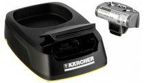 Caricabatteria per strumenti - Karcher Charging Station + rech. batteria pack per WV 5 Plus