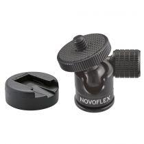 Revenda Cabeça de Tripé - Novoflex Ball Head small + Hot Shoe