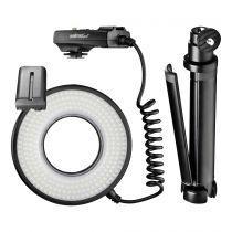 Revenda Iluminação Video - walimex pro macro LED Ring Lamp DSR 232 Set