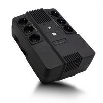 Ondulatore - EWENT UPS 600VA LINE INTERACTIVE WITH AVR, 6 X CEE7/3 PORT