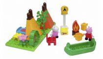 Revenda Outros brinquedos / jogos - BIG PlayBIG Bloxx Porquinha Peppa Camping Set