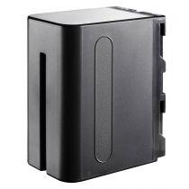 Batterie per Sony - Batteria Walimex Li-Ion Batteria 6600mAh per Sony NP-F960