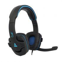 Cuffie Gaming - EWENT Cuffia GAMING PC/ XBOX ONE/ PS4 BLACK- BLUE