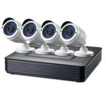 Revenda Câmaras CCTV Vigilância - LEVELONE KIT VIDEOVIGILANCIA CCTV 4 CANAIS
