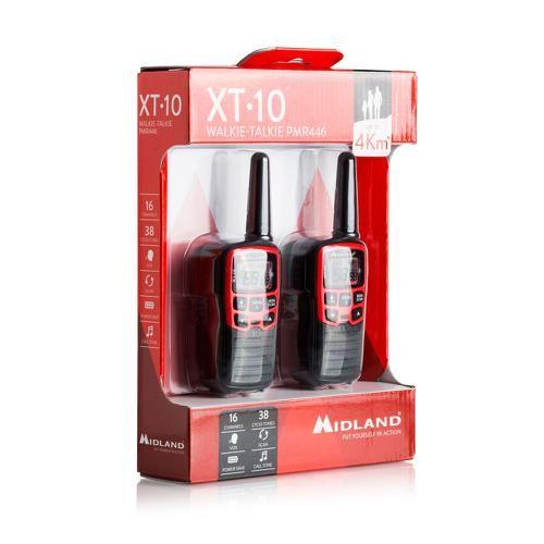 Walkie-Talkie Midland XT10 blister 2