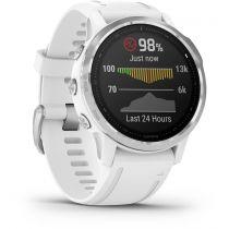 GPS Trekking Portatili - Garmin fenix 6S Bianco/white