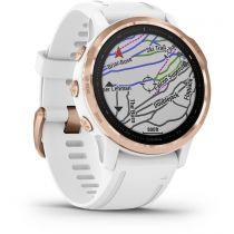 GPS Trekking Portatili - Garmin fenix 6S Pro rosegold/white
