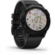 GPS Trekking Portatili - Garmin fenix 6X Pro black/black