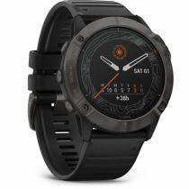 GPS Trekking Portatili - Garmin fenix 6X Solar Titanium DLC black/grey