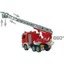 Macchine telecomandate - Jamara Mercedes Antos with turntable ladder red/white scale