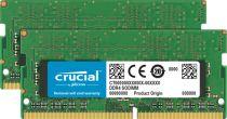 Memorie portatili - Crucial 16GB DDR4 2666 MT/s Kit 8GBx2 SODIMM 260pin per Mac