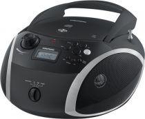 Revenda Rádio Cassette / CD - Radio CD Grundig GRB 3000 BT black/silver