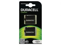 Batterie Videocamara Action - 1x2 Duracell Li-Ion Batteria 1160mAh per GoPro Hero 4