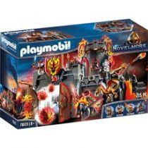 Playmobil - PLAYMOBIL 70221 Fortress Fire Rock | Knights | 215 pcs | + 8