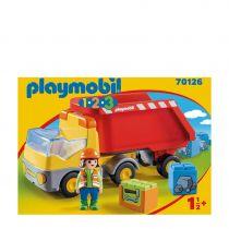 Playmobil - PLAYMOBIL 70126 Dump Truck | 1.2.3 | + 18 M | plastic