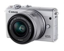 Fotocamere Canon - Telecamera digital Canon EOS M200 Kit Bianco + EF-M 15-45 IS