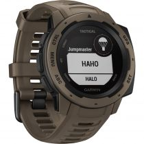 Fitness tracker / Smart wristband - Garmin Instinct Tactical Edition Coyote Tan
