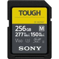 Revenda Secure Digital SD - Sony SDXC M Tough series 256GB UHS-II Class 10 U3 V60 Cartão Memória