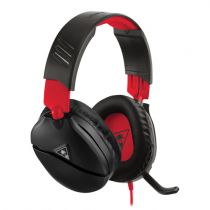 Cuffie Gaming - Auscultadores Turtle Beach RECON 70 black/red   Over-Ear   P