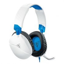 Cuffie Gaming - Auscultadores Turtle Beach RECON 70 white/blue   Over-Ear  
