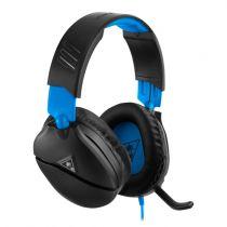 Cuffie Gaming - Auscultadores Turtle Beach RECON 70 black/blue   Over-Ear  