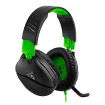 Cuffie Gaming - Auscultadores Turtle Beach RECON 70 black/green   Over-Ear  