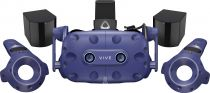 Comprar Óculos 3D e VR - Óculos VR HTC Vive Pro Eye blue/black + Controller + Basestation 2.0 A