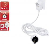 Revenda Adaptadores de Rede - Extensão Elétrica REV Safery sensor extension 3m Branco Powersplit