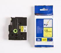 Consumabili POS - Brother Fita / Tape TZe-FX641 18 mm, Nero on yellow