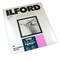 Carte fotografiche - 1x 25 Ilford MG RC DL  1M  13x18
