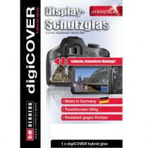Protezioni per display - digiCOVER Hybrid Glass Display Cover Nikon Z50