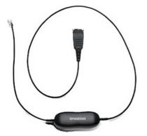 Revenda Telefones IP - Jabra Smart Cord Cabo de auricular preto - para Cisco IP Phone 78XX, B
