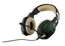 Cuffie Gaming - Trust GXT 322C Cuffia Gaming - Green camouflage