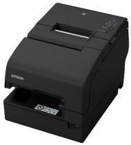 Revenda Impressoras Etiquetas - Epson TM-H6000V-216: P-USB, MICR, Preto - Impressão térmica, Matricial