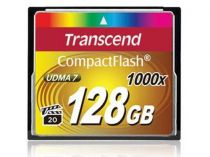 Compact Flash - Transcend Compact Flash 128GB 1000x
