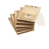 Revenda Acessórios Aspiradores - Sacos Aspirador Karcher Conjunto de filtros de papel 5 + 1 Microfilter