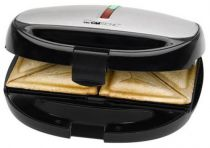Macchine per waffel - Máquina Waffles Clatronic ST/WA3670 3-in-1 preto/inox | 800W