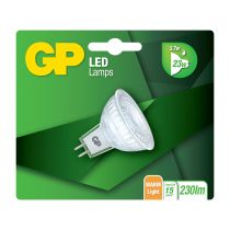 Revenda Lâmpadas LED - GP Lighting LED GU5.3 MR16 Refl. 3,7W (23W) 230 lm      GP 080329
