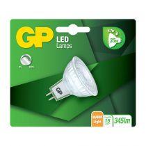 Lampade LED - GP Lighting LED GU5.5 MR16 Refl. 4,7W (35W) 345 lm DIM  GP 0