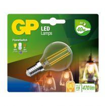 Lampade LED - GP Lighting LED FlameSwitch E14 4W (40W) 470 lm        GP 08