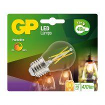 Lampade LED - GP Lighting LED FlameDim E27 4W (40W) 470 lm        GP 08546