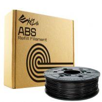 Accessori Stampanti 3D - Filamentcassette Nero Refill ABS DaVinci 600g 240m