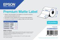 Carta - EPSON PAPEL PREIMIUM MATTE LABEL 102MMX51MM 650 FOLHAS
