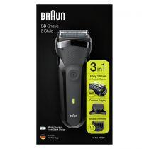 Rasoi - Maquina Barbear Braun Series 3 300 BT black