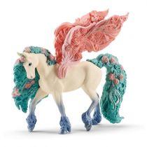 Revenda Figuras Animais - Schleich bayala     70590 Blossom Pegasus