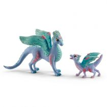 Revenda Figuras Animais - Schleich bayala     70592 Blossom dragon mother + child