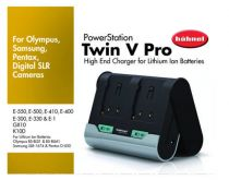 Caricabatterie universale - Caricabatteria Hahnel TWIN V PRO OSP