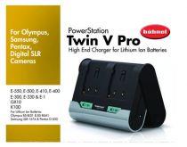 Caricabatterie universale - Carregador Hahnel TWIN V PRO OSP