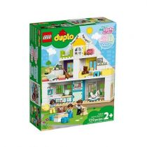 Revenda Lego - LEGO 10929 DUPLO Town Modular Playhouse 3-in-1 | 129 pcs | 24M +