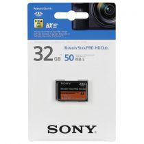 Revenda Memory Stick - Cartão Memória Sony Memory Stick Pro HG Duo HX 32GB Class 4
